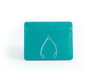 The Minimalist - Aqua (White Print)
