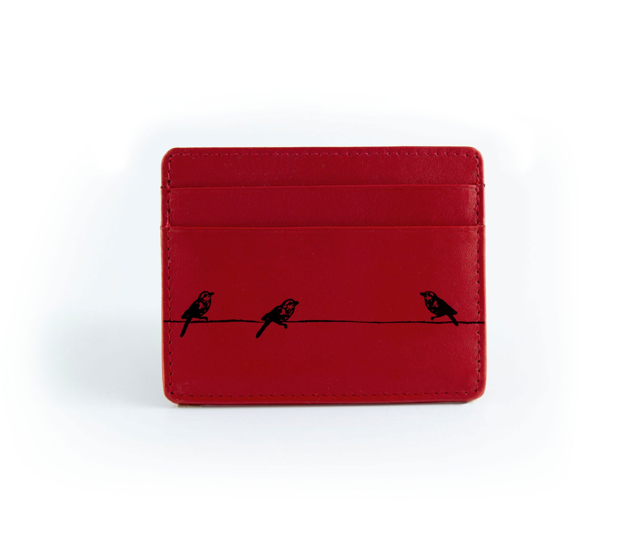 The Minimalist - Red (Black Print)