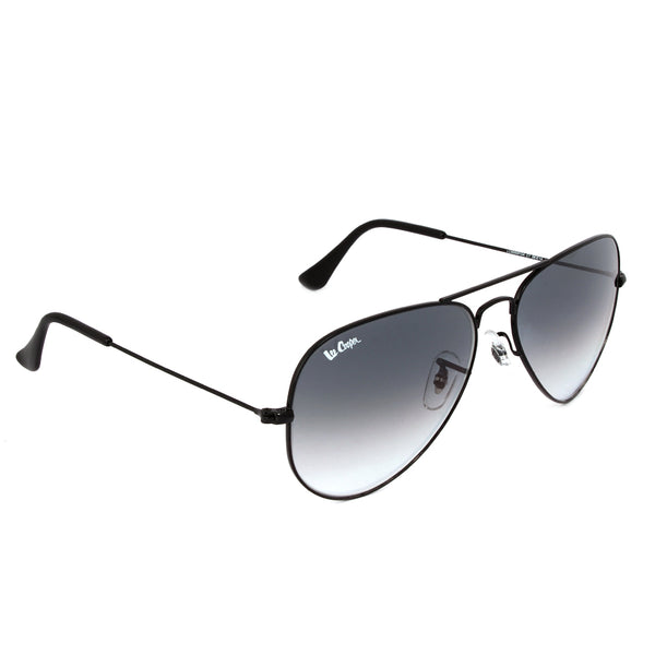 Matte Black Grey Full Rim Aviator Small Polarized Sunglasses Eyekaa