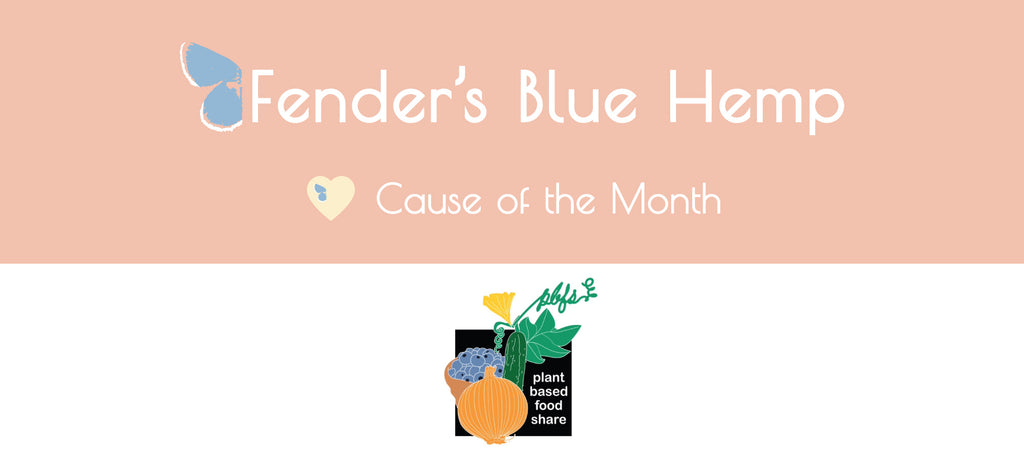 Fender's Blue Hemp Cause of The Month - Plant Based Food Share