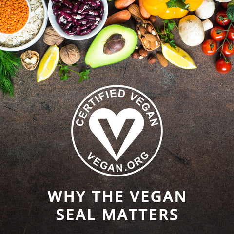 Vegan Logo WIth Post Title