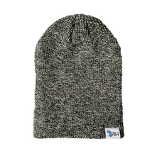 Load image into Gallery viewer, FBH Two-Way Beanie - Salt & Pepper
