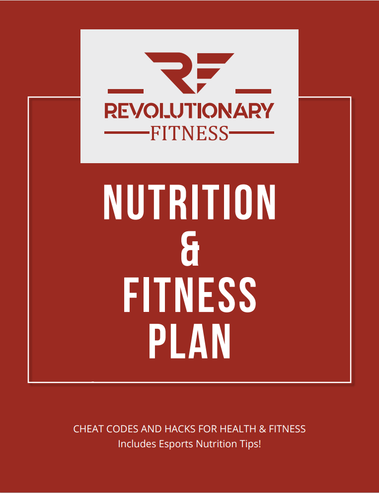 Revolutionary Supplements Meal Plan Revolutionary Fitness Workout & Meal Plans