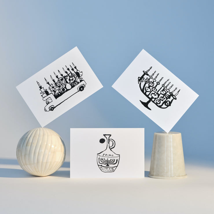 Hanukkah Card 3-Pack | JST X Mike Paré Studio