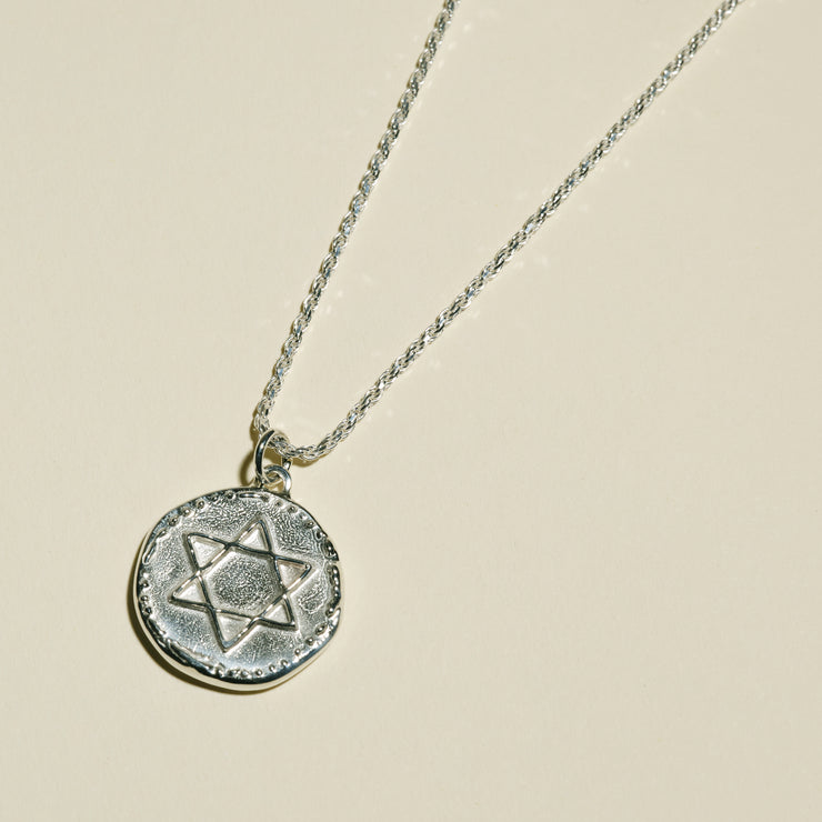 Star of David Necklace | JST x Vada Jewelry (Sterling Silver)