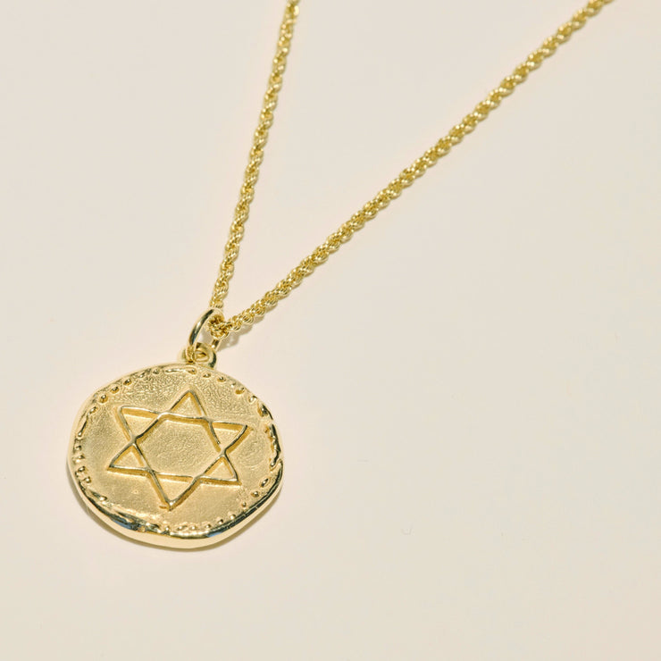 Star of David Necklace | JST x Vada Jewelry (14k Gold)