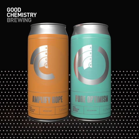 Positivity Pack - Pure Optimism x Amplify Hope, 12x440ml