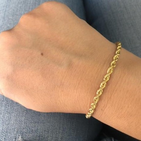 Thick Rope Bracelet