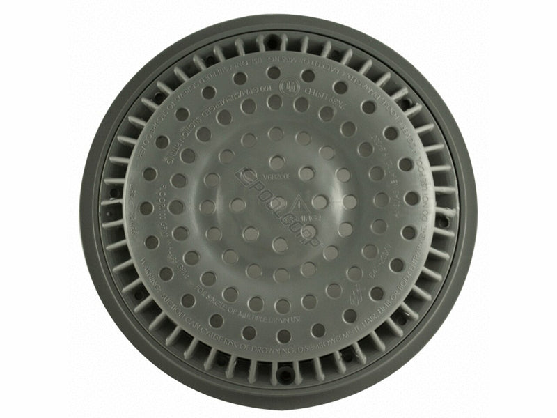 "8"" Anti-Vortex Drain Cover with Frame"