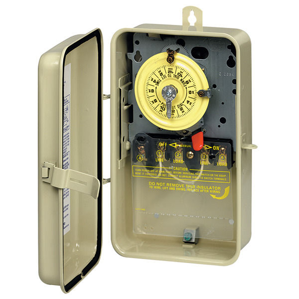 Intermatic® Timer, Indoor/Outdoor with Metal Box