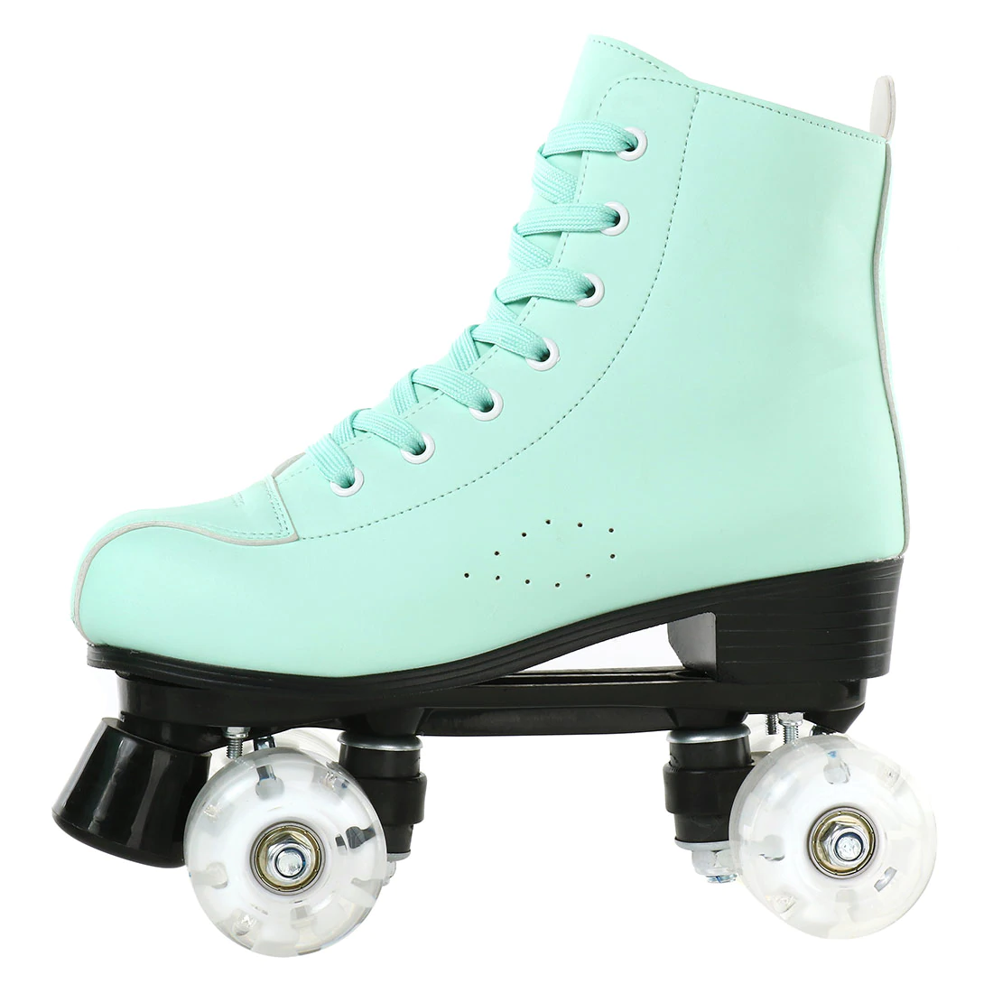 Mint Green Quad Roller Skates