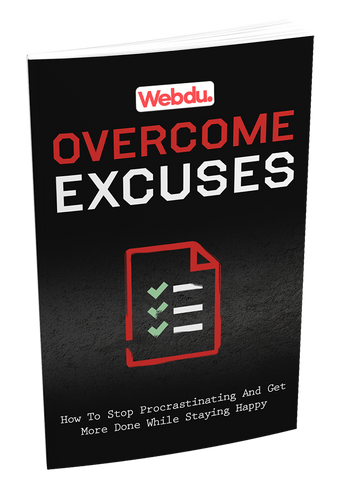 Overcome Excuses Webdu Course