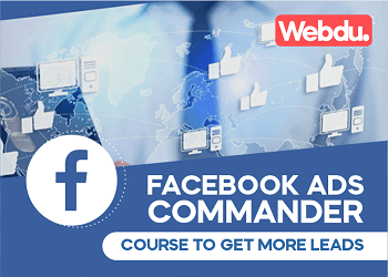 Facebook Ads Commander Webdu Course