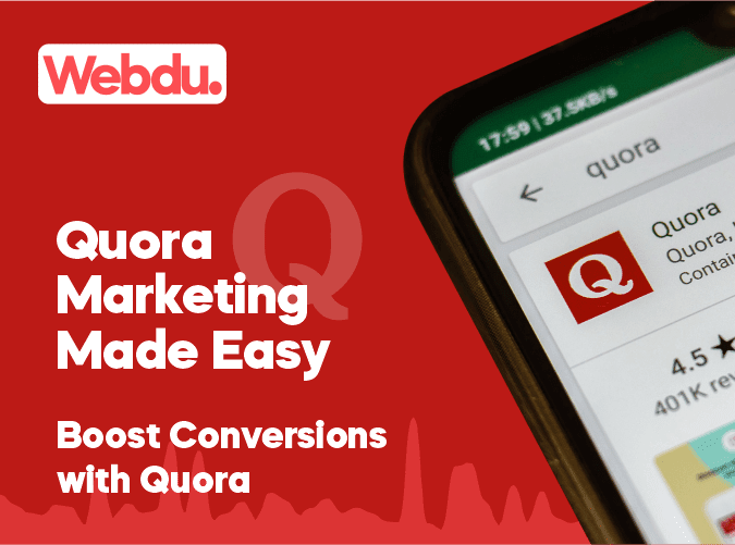 Quora Marketing Webdu Course