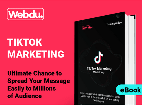 TikTok Marketing Complete Webdu E-Book