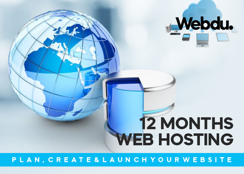 Website Hosting for 12 months