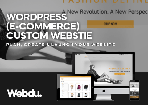 Ecommerce Website Design - Wordpress