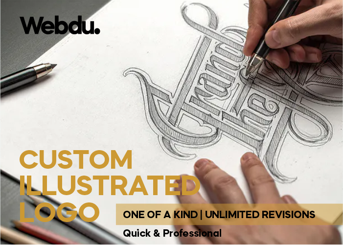 Custom Illustrated Logo