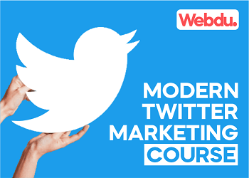 Modern Twitter Marketing Webdu Course
