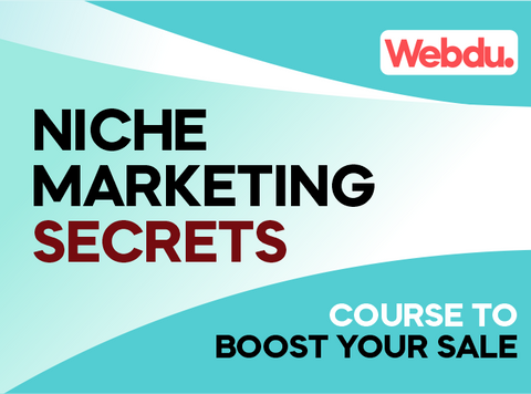 Niche Marketing Secrets Webdu Course