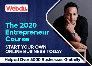 The 2020 Entrepreneur Webdu Course