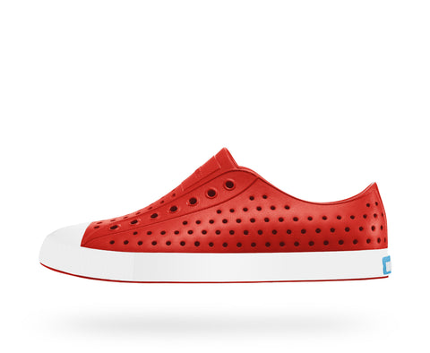 NATIVE JEFFERSON in TORCH RED/SHELL WHITE