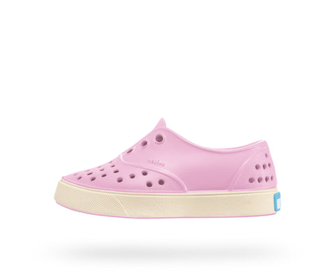 NATIVE MILLER JUNIOR in PRINCESS PINK/BONE WHITE