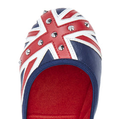 Butterfly Twists Miss Jacqui in Studs Red/White/Blue