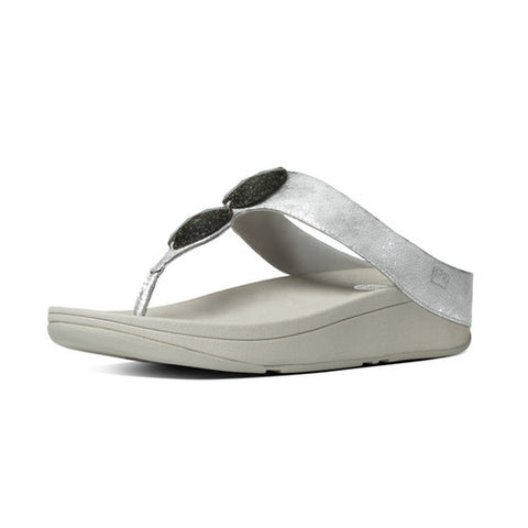 07c05b7b3a49be Fitflop Electra Silver Best Price