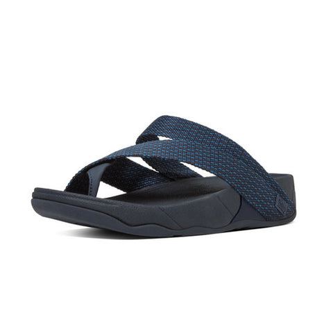 FitFlop™ SLING WEAVE TOE-POST ™ in Supernavy/Deep Blue