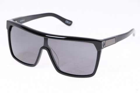 SPY+ FLYNN in FLYNN SHINY BLACK/MATTE BLACK  - GREY