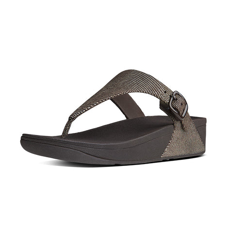 FitFlop™ THE SKINNY LIZARD PRINT  ™ in CHOCOLATE BROWN