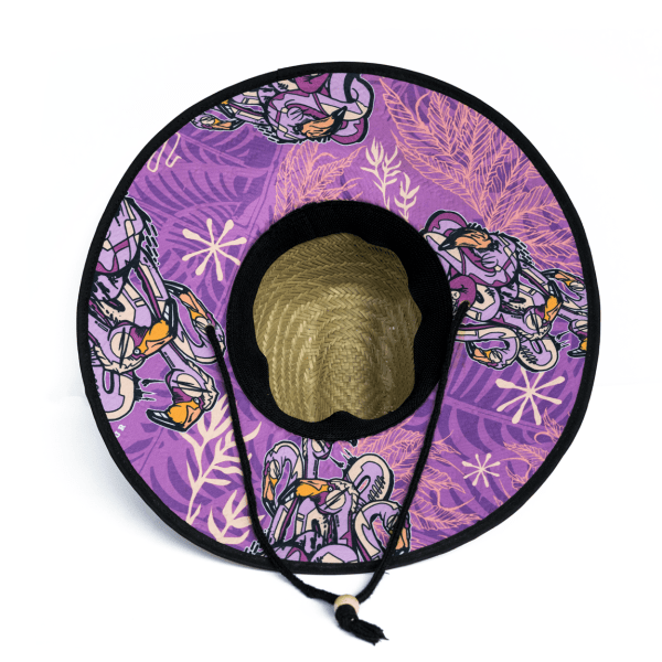 Farmers Armour Straw Hat - Flamingo
