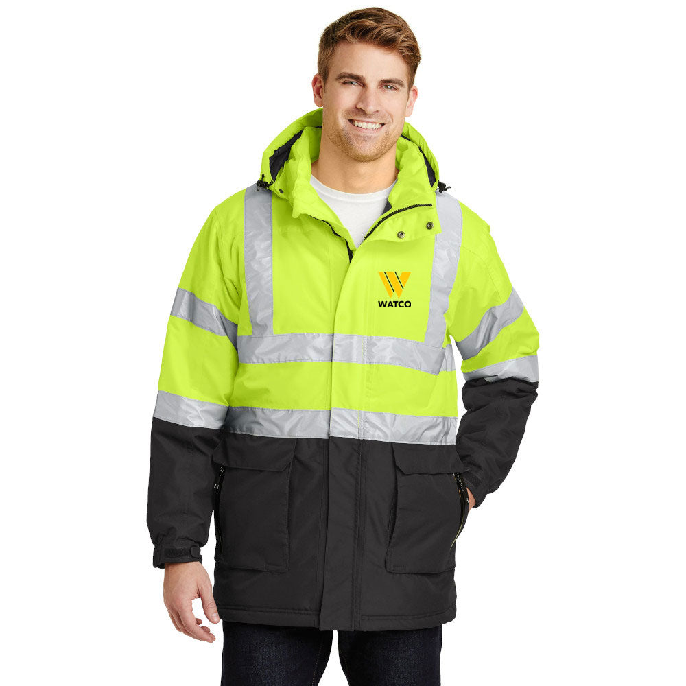 Port Authority® ANSI 107 Class 3 Safety Heavyweight Parka - J799S