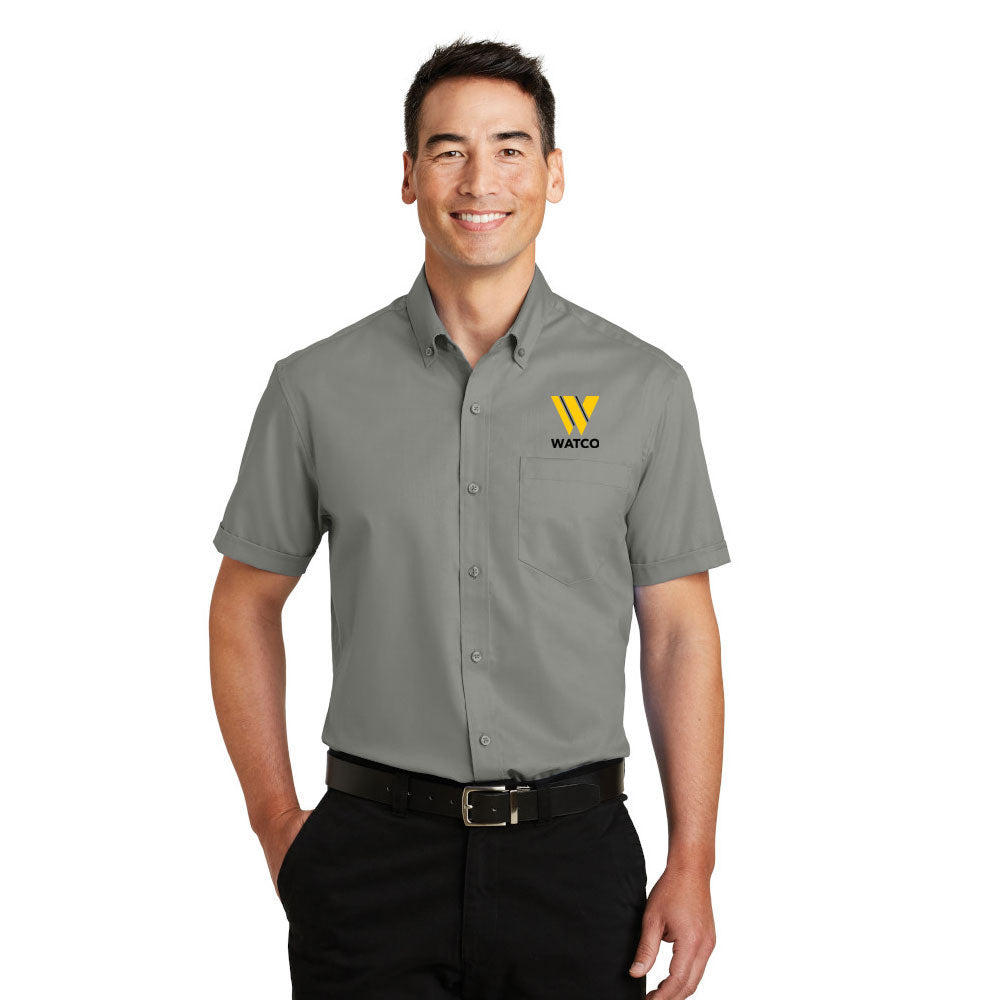 Port Authority® Short Sleeve SuperPro™ Twill Shirt - S664