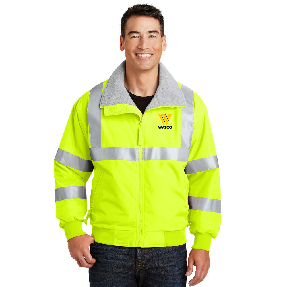 Port Authority® Enhanced Visibility Challenger™ Jacket with Reflective Taping - SRJ754