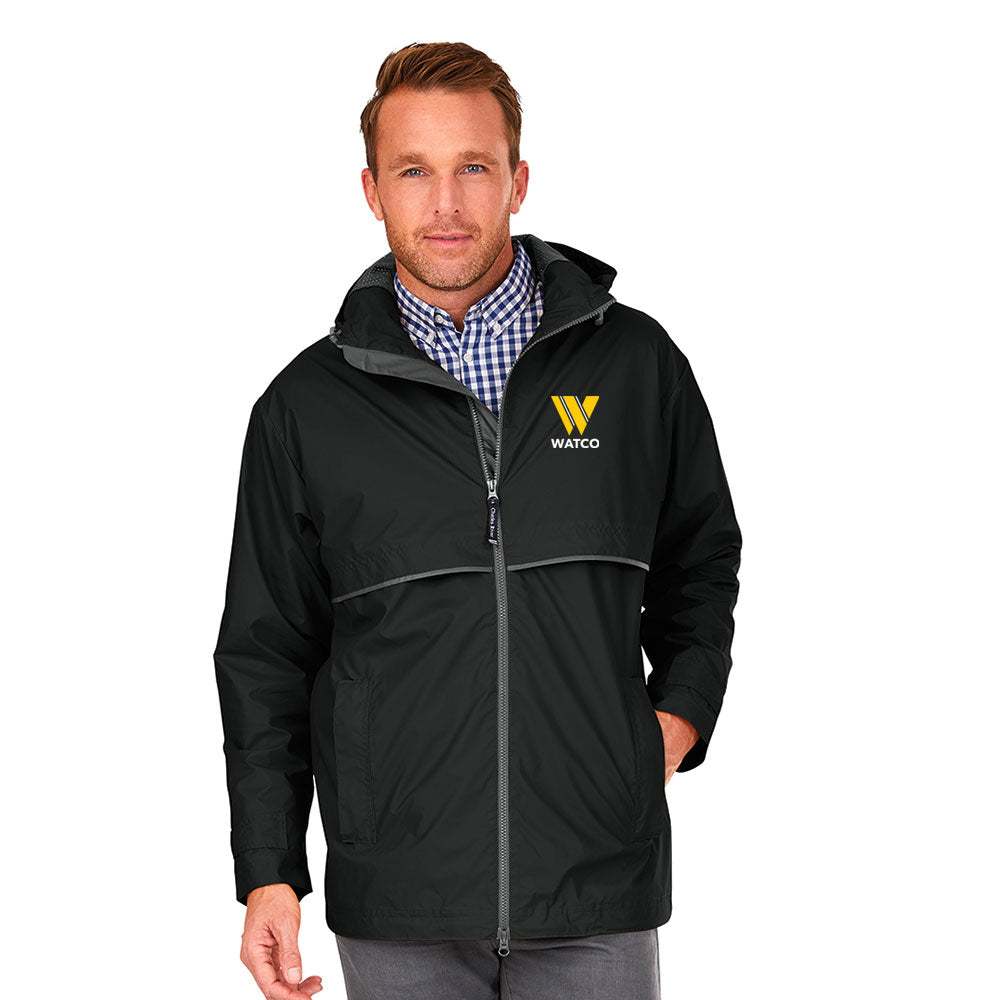 MEN'S NEW ENGLANDER RAIN JACKET - 9199
