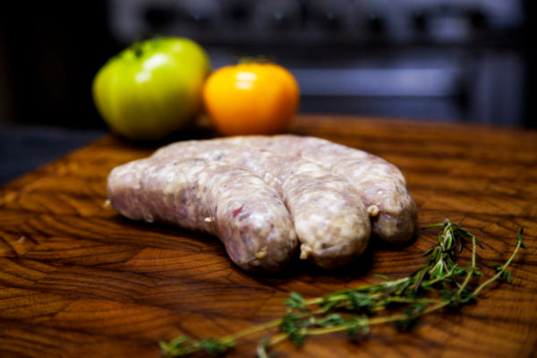 Pear & Stilton Sausage