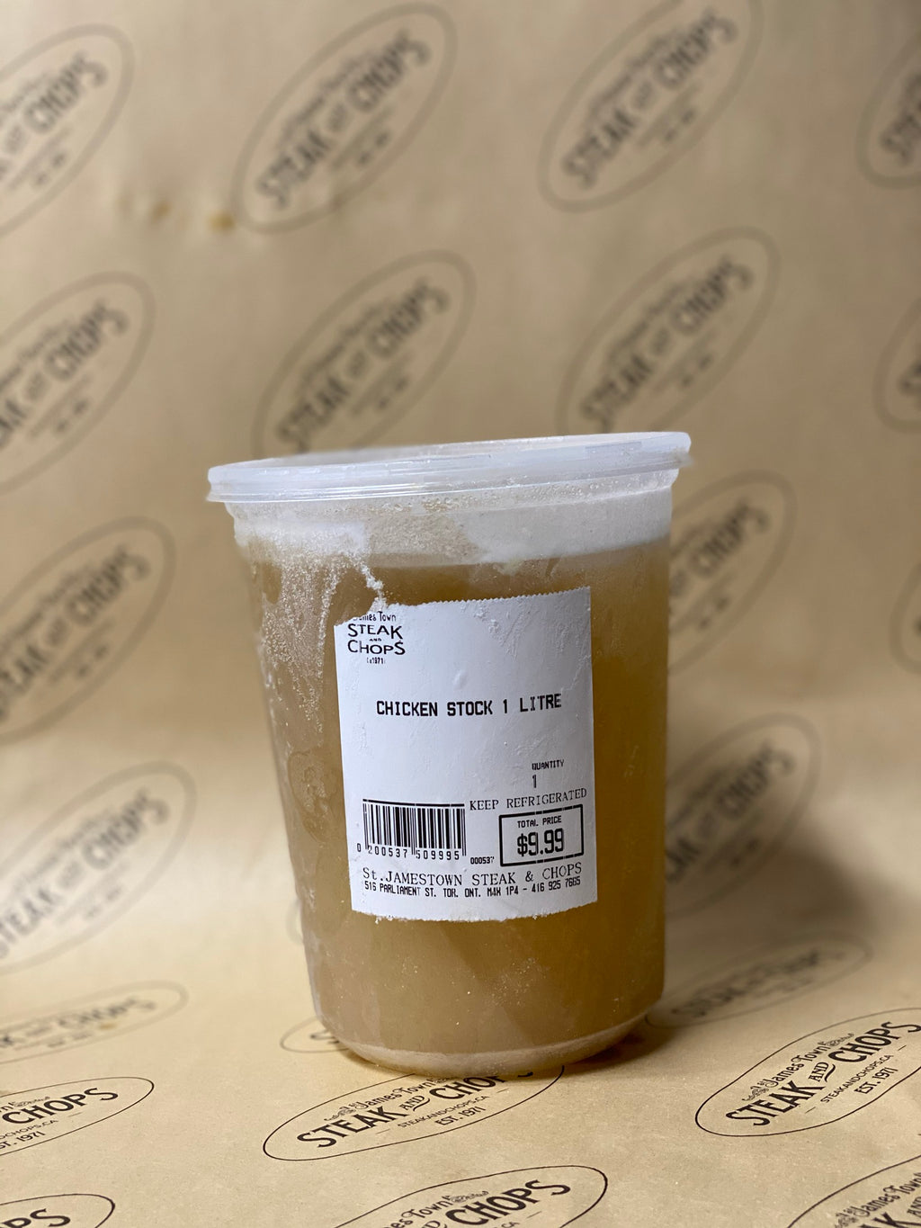 House-made Chicken Stock (1L)