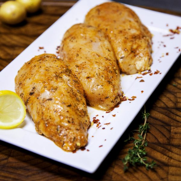 Cajun Marinated Boneless Chicken