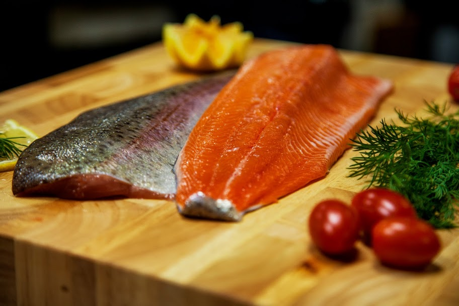 Fresh Ontario Rainbow Trout Filets