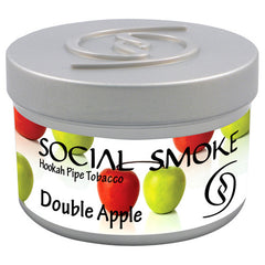 Social Smoke - Double Apple , Vandpibe Tobak - Social Smoke, Vandpibe Salg
