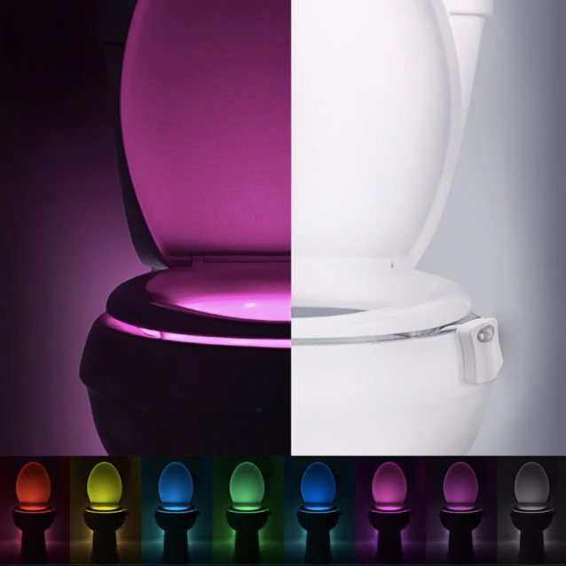 LED Glow Bowl Toilet Light