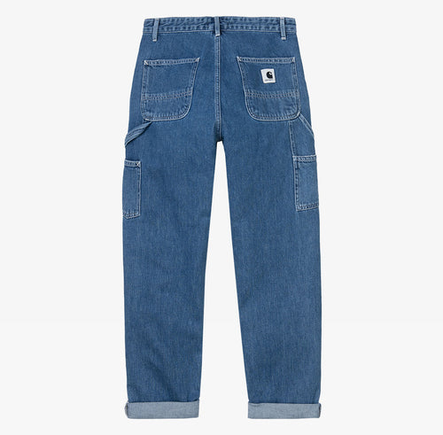 Carhartt WIP Pierce Pant Blue Stone Washed - Shop Carhartt WIP for Women Online at OnTheBlock