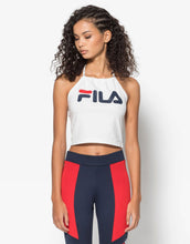 Load image into Gallery viewer, FILA Chiara Halterneck Top White