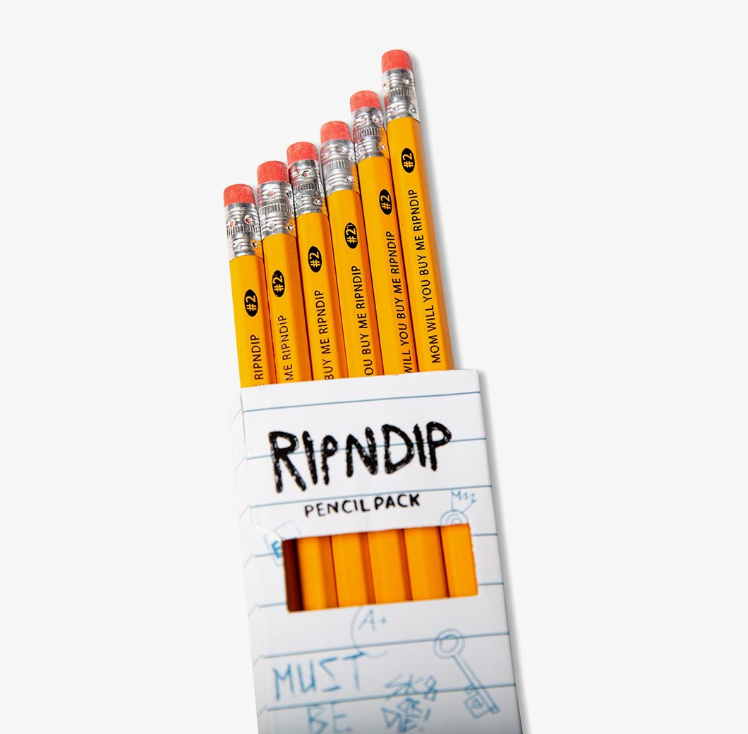 RIPNDIP Buy Me Pencil Pack - Shop RIPNDIP Online at OnTheBlock