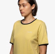 Load image into Gallery viewer, Stussy Contrast Binding Tee Sand