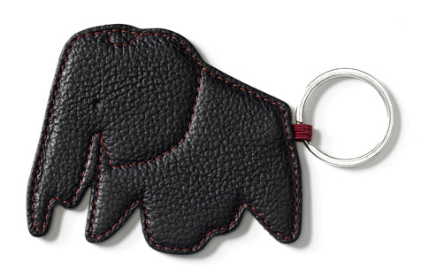 Key Ring Elephant, nero