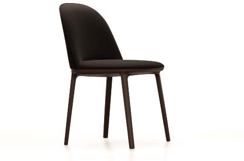 Softshell Side Chair Vierbein-Untergestell