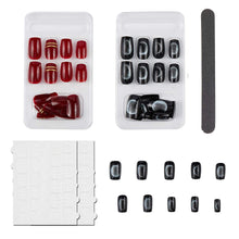 Load image into Gallery viewer, Nail Art False Nails Set (NAIL-NN0001-D051-8)